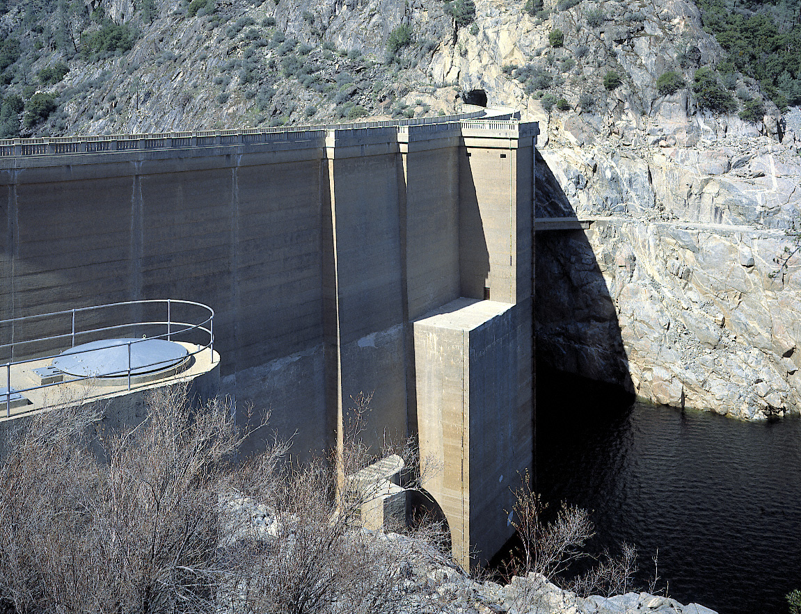 O'Shaughnessy Dam, Hetch Hetchy, Yosemite National Park