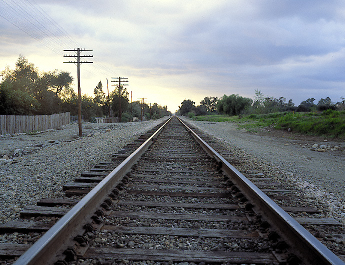 Railroad Track, Claremont, California